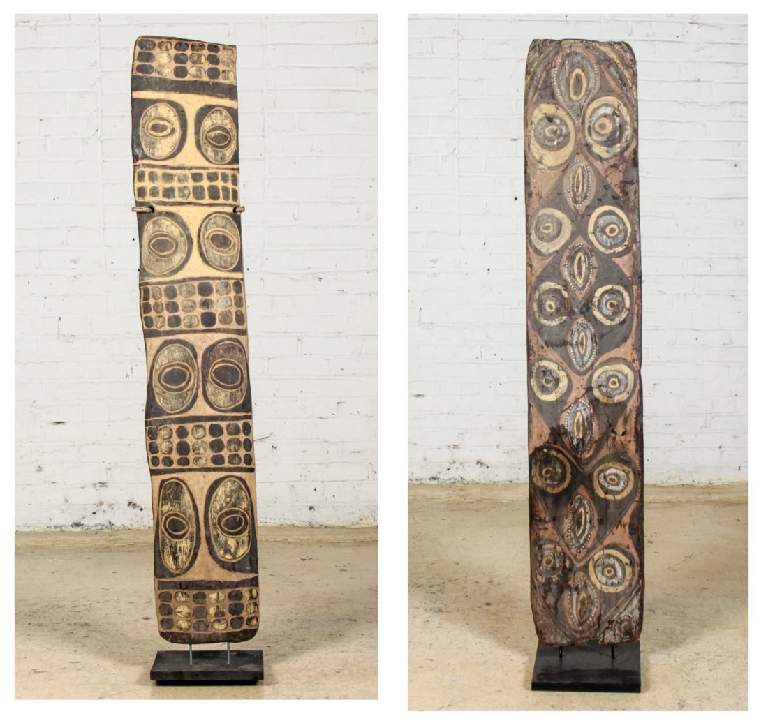 Pair of New Guinea Shields