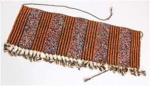 Beaded African Kirdi Apron