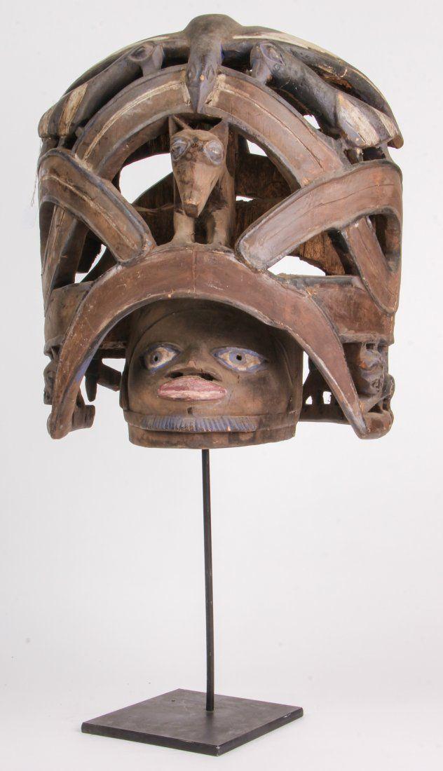 Exemplary Yoruba Gelede Headdress