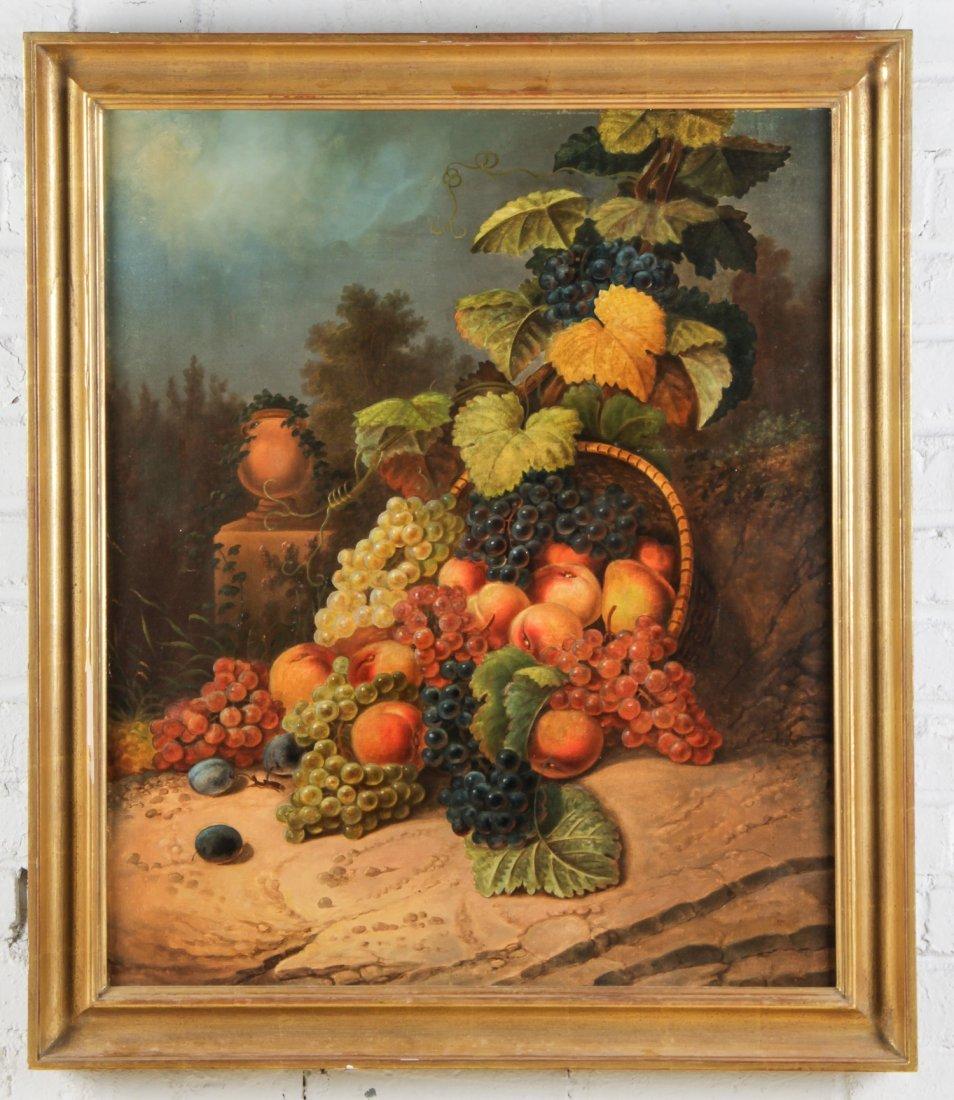 19th C. British School Still Life with Fruit