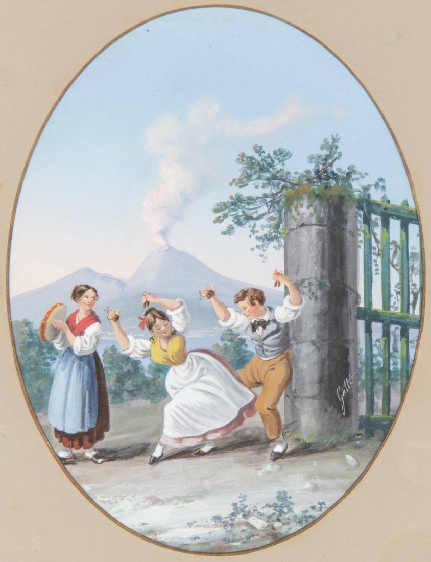 Anabale Gatti (Italian, 1827-1909) Painting