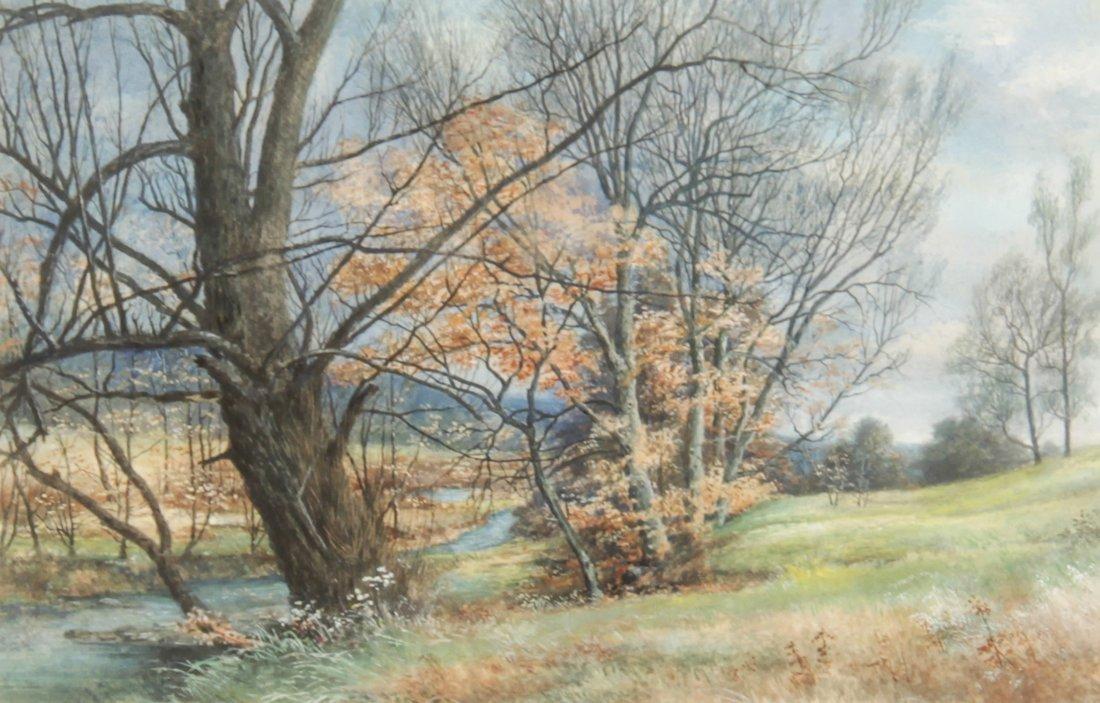 R.W. Mitchell (Pennsylvania) Watercolor