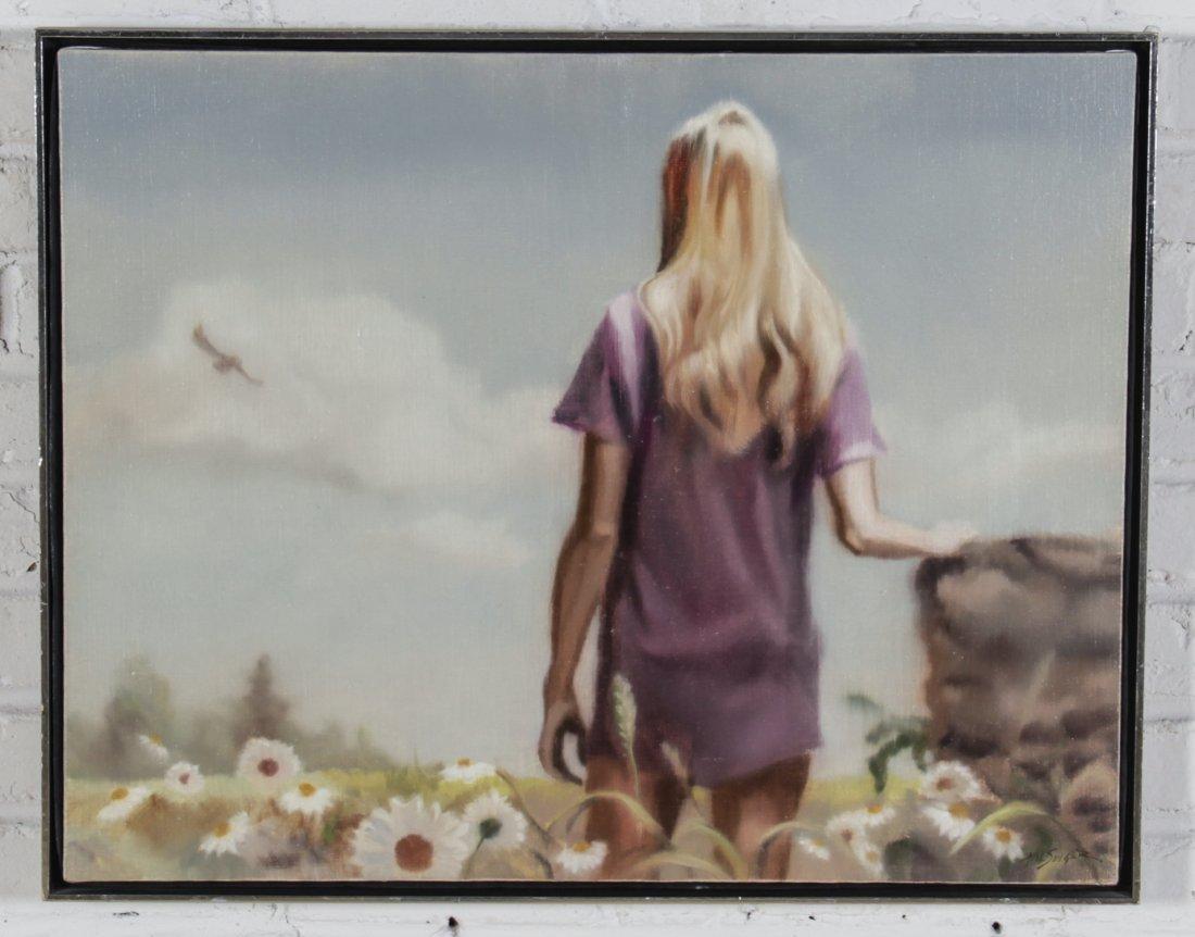 Hal Singer (American, 1919-2003) Painting - 2