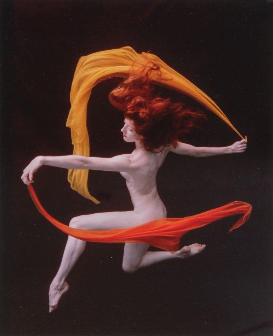 """Howard Schatz Color Photograph """"Underwater Study #41"""""""