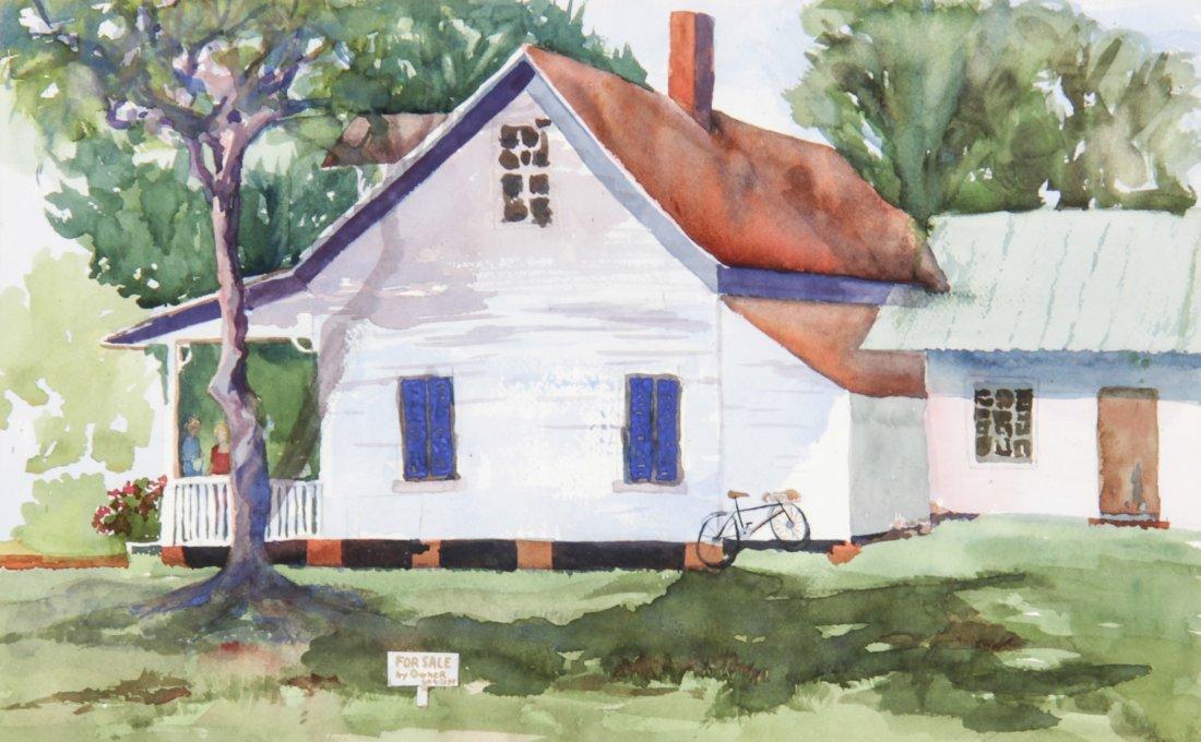 Doris Jean Petit (American) Watercolor