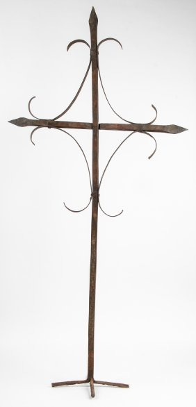Georges Liautaud (1889-1991) Haitian Iron Cross