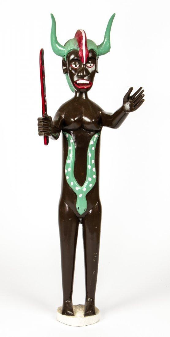 African Fine Art Sculpture by Agbagli Kossi