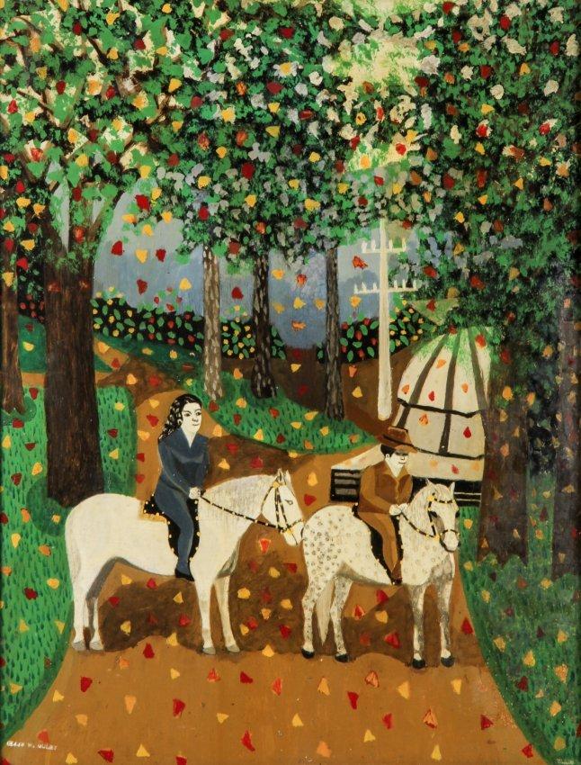 Ellis Ruley (USA, 1882-1959) Painting