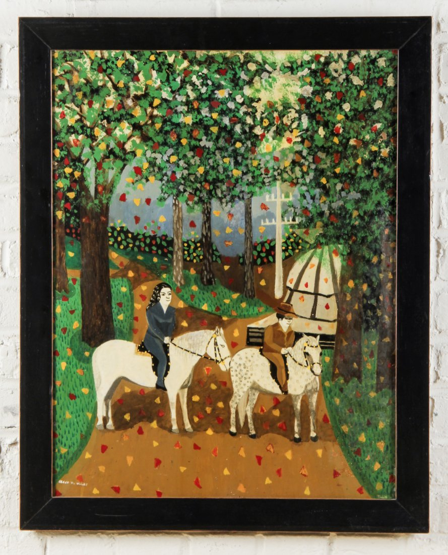 Ellis Ruley (USA, 1882-1959) Painting - 2