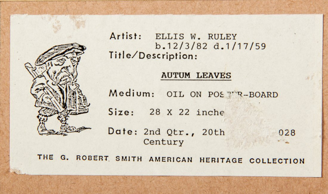 Ellis Ruley (USA, 1882-1959) Painting - 5