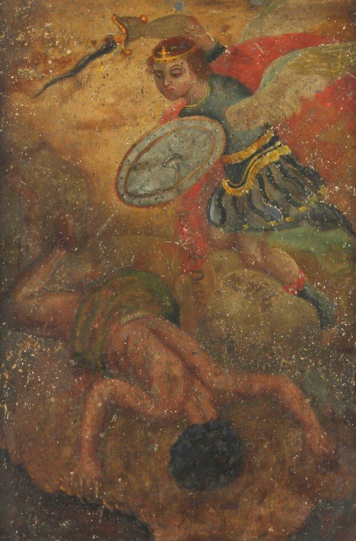 San Miguel (St. Michael the Archangel), Retablo