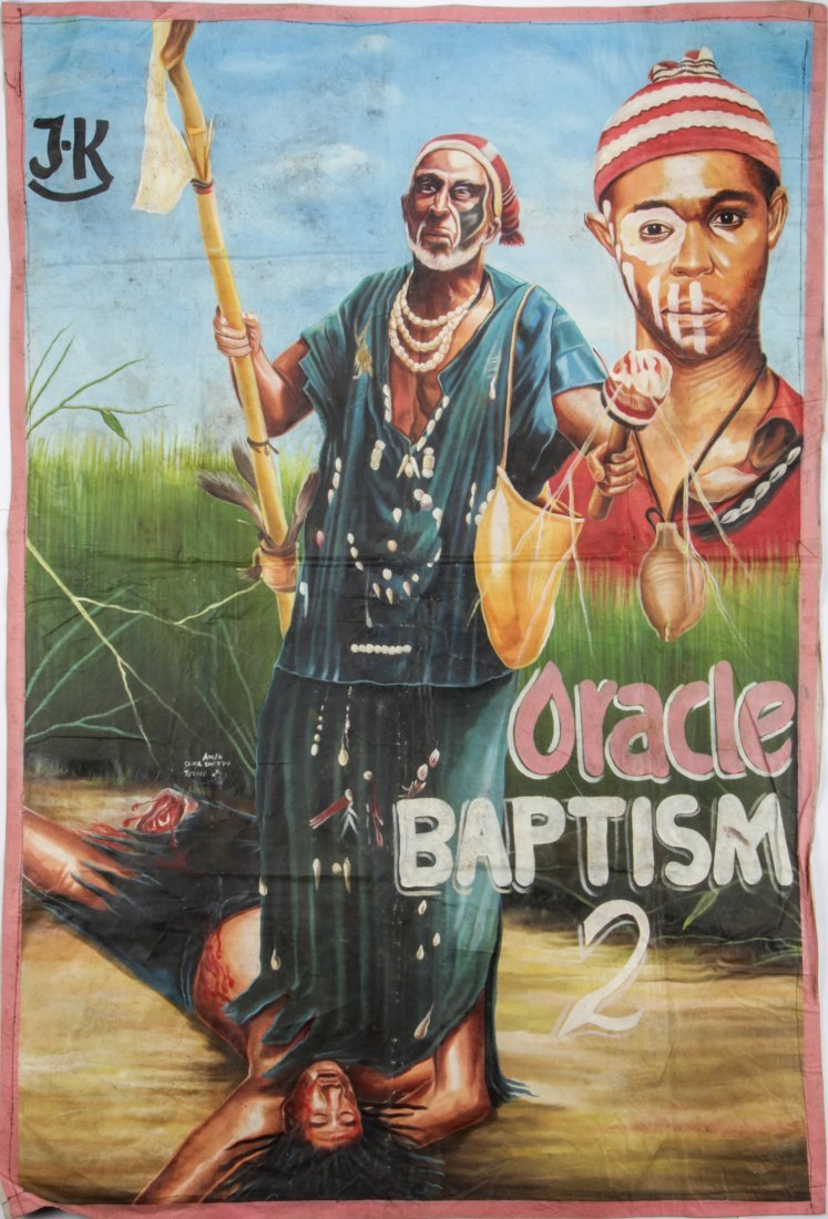"Awal Sunil Shetty, Ghanian Movie Poster, ""Oracle"