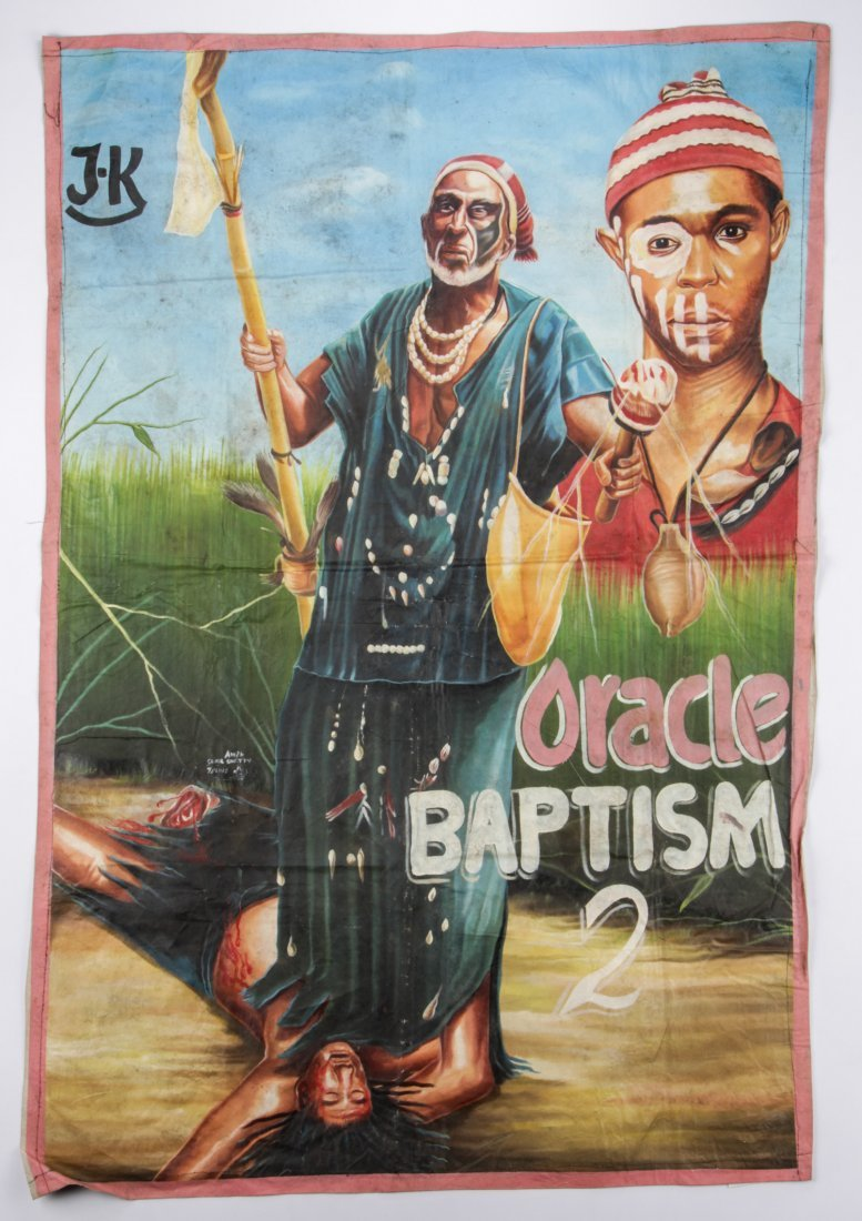 "Awal Sunil Shetty, Ghanian Movie Poster, ""Oracle - 2"