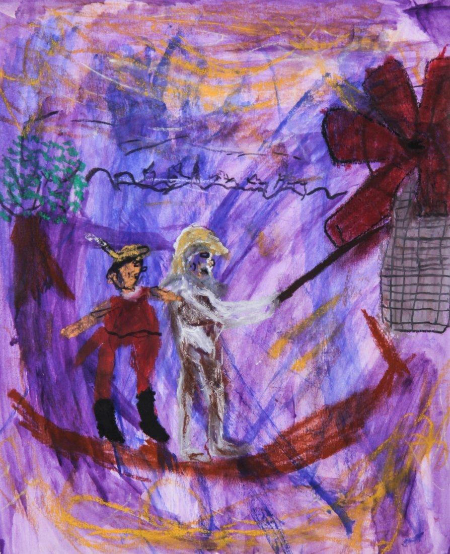 John D. Holly, Don Quixote and the Windmill