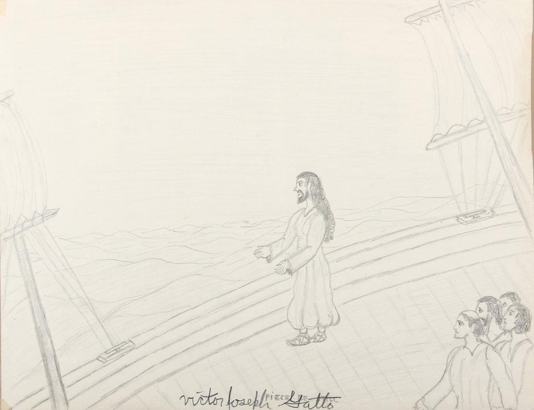 Victor Joseph Gatto Drawing