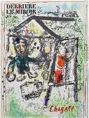 Marc Chagall Signed Litho