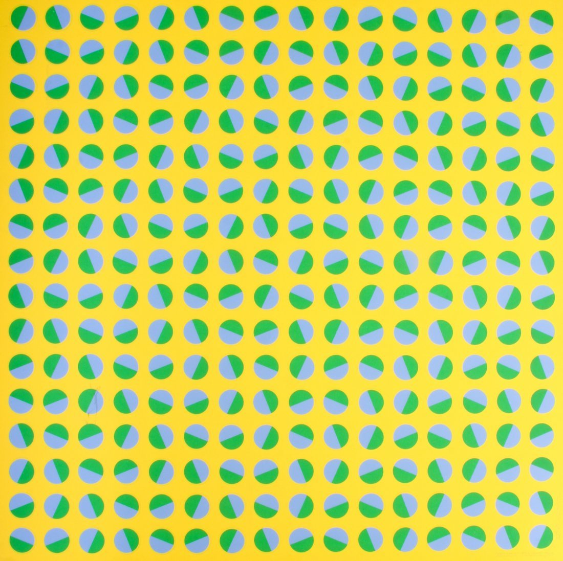 Edna Andrade, Yellow Bounce