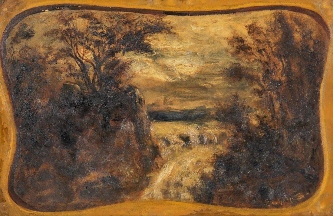 Louis Michel Eilshemius Oil Painting, Landscape
