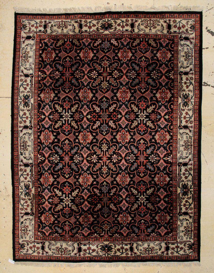 """Indo-Persian Carpet: 8'10"""" x 11'9"""""""
