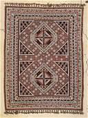 Modern Middle Eastern Sumak Rug 51 x 69