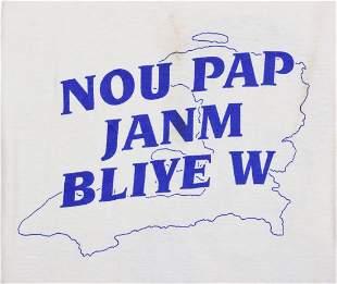 Nou pap Janm Bliye W Cloth t-shirt
