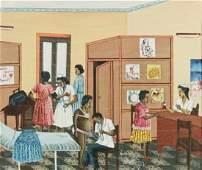 Henry Thezume (Haitian/Cap-Haitien, 20th c.)