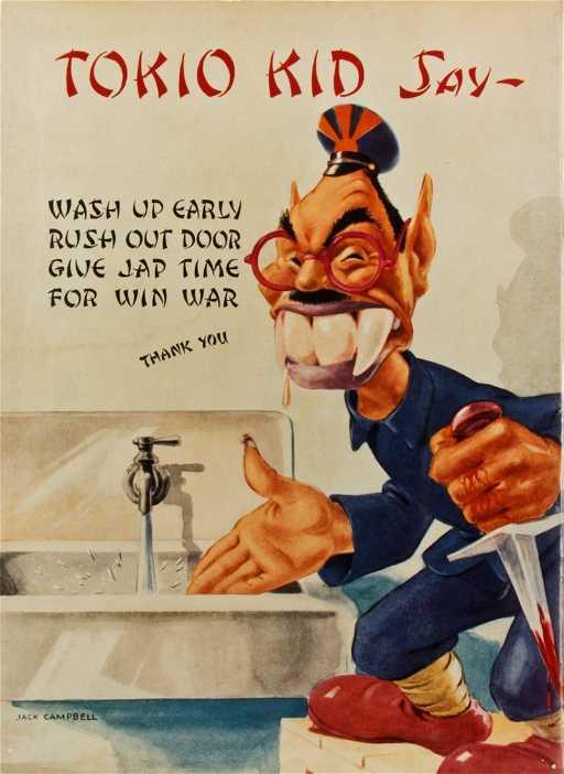 Racist Quot Tokio Kid Say Quot Propaganda Poster