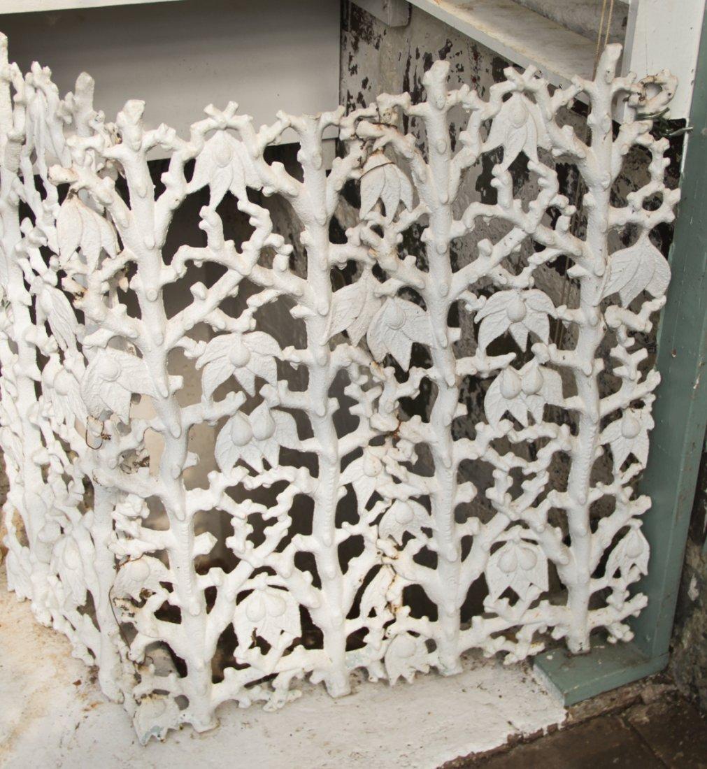Victorian Cast Iron Garden Fence Panels - 2