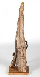 Jessie Aaron (American, 1887-1979) Wood Sculpture