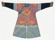 Antique Chinese Imperial Dragon Robe