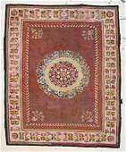 Antique Aubusson Tapestry Rug 9 x 10