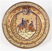 Large Scale Spanish Lustreware Charger