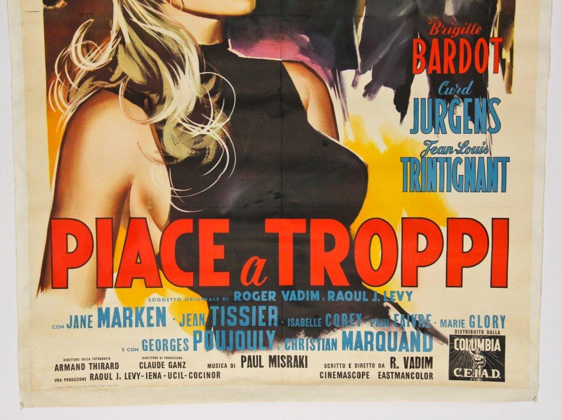 Vintage Brigitte Bardot Movie Poster - 3