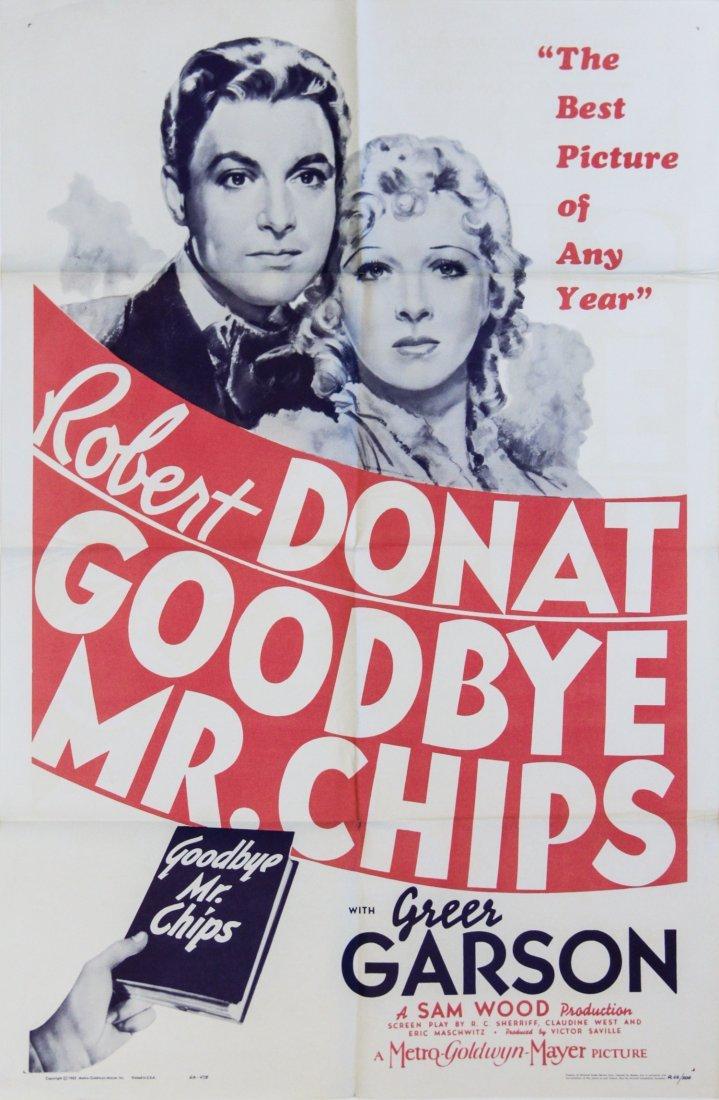 Vintage Poster: Goodbye Mr. Chips