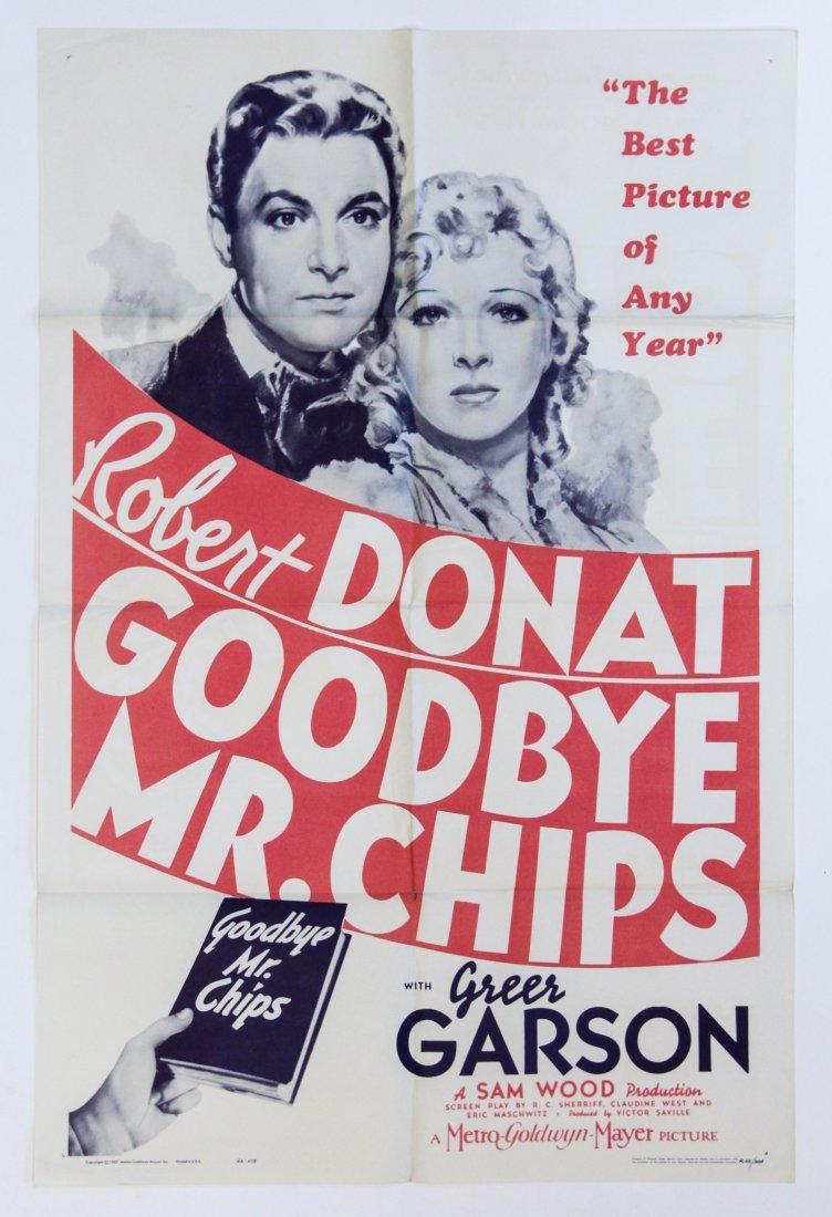 Vintage Poster: Goodbye Mr. Chips - 2