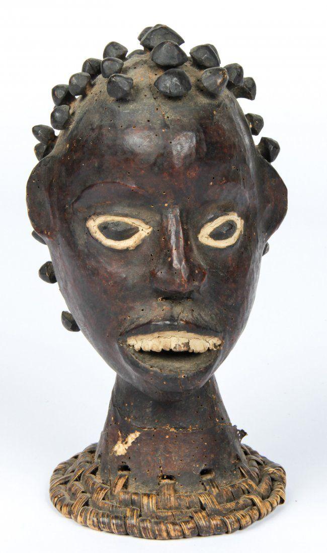 Antique African Ekoi Headdress