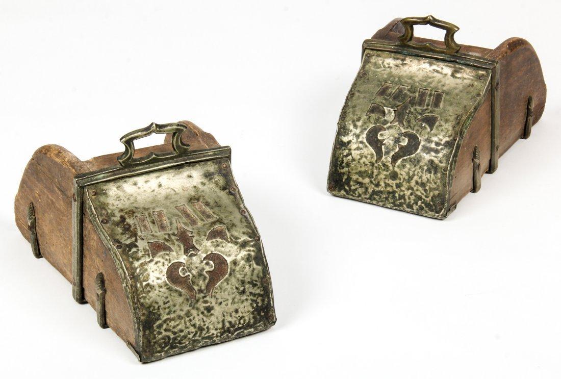 Pair Antique Spanish Stirrups