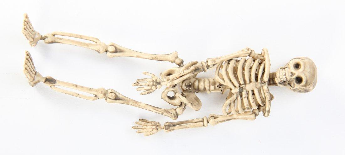 Group of 32 Plastic Halloween Skeletons