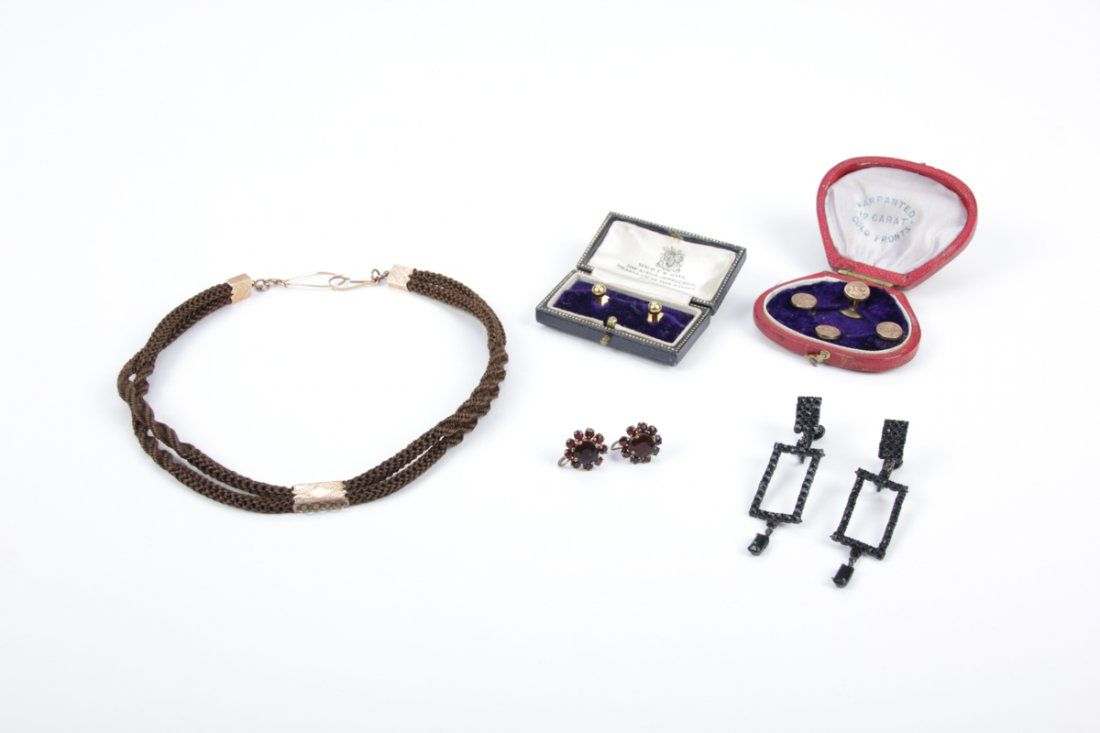 5 Piece Victorian Jewelry Suite
