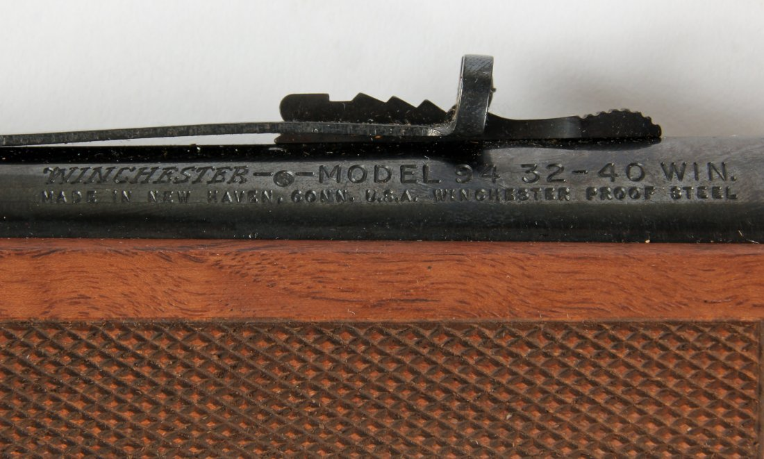 Commemorative John Wayne Winchester Model 94 Rifle - 6