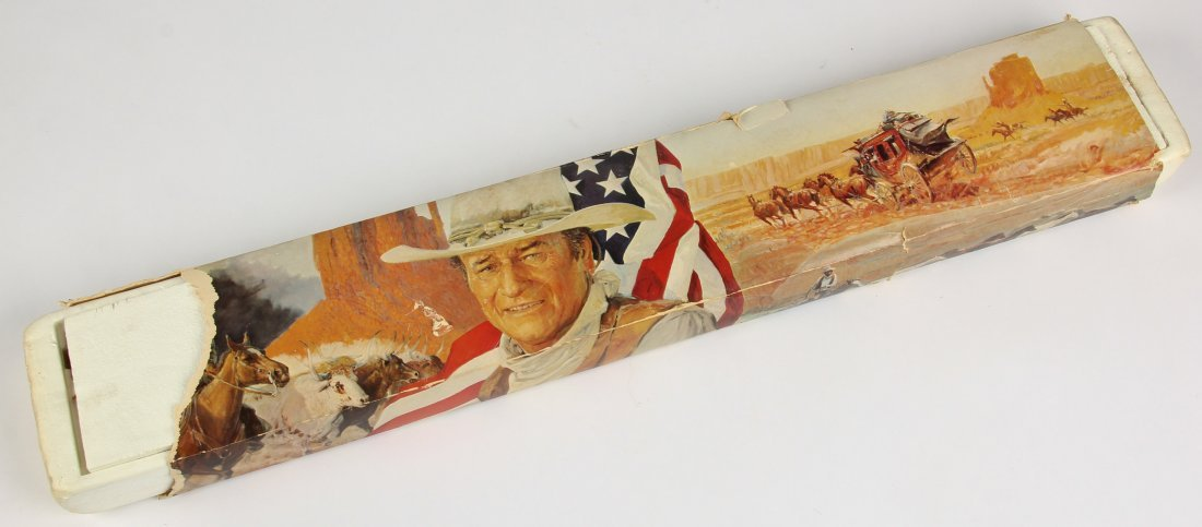 Commemorative John Wayne Winchester Model 94 Rifle - 8