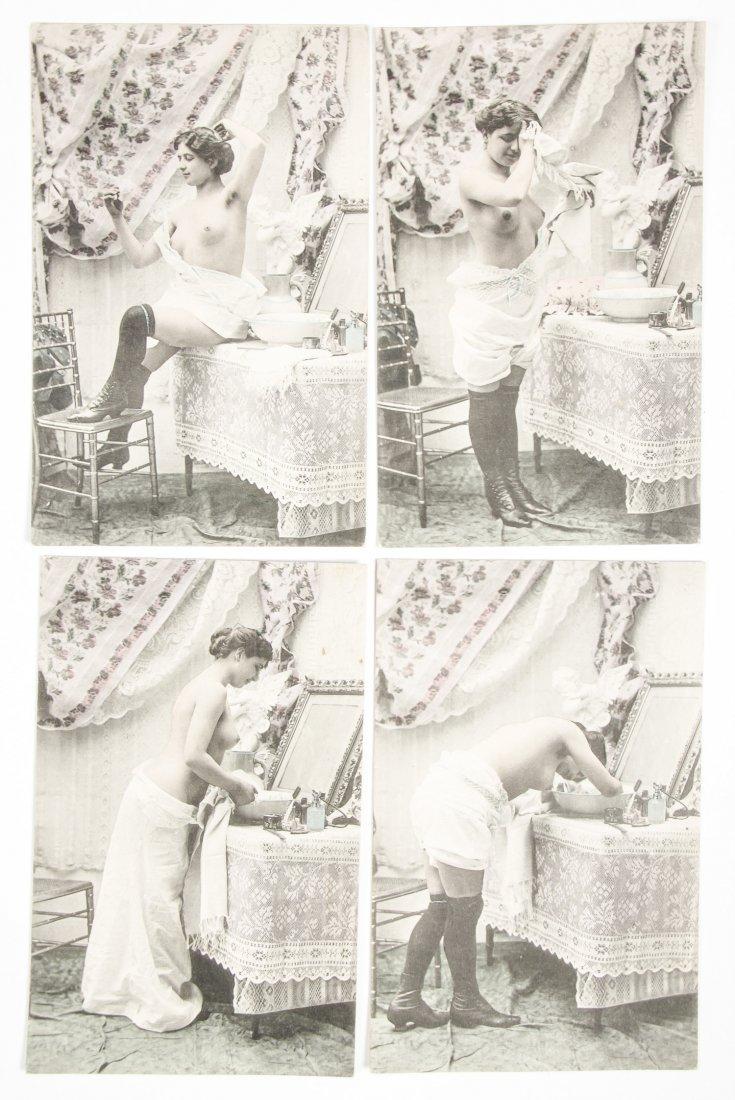 23 pc Vintage Risque Nude Postcard Lot - 2