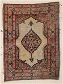 """Small Hadji Jalil Tabriz Rug: 2'1"""" x 2'9"""" (64 x 84 cm)"""
