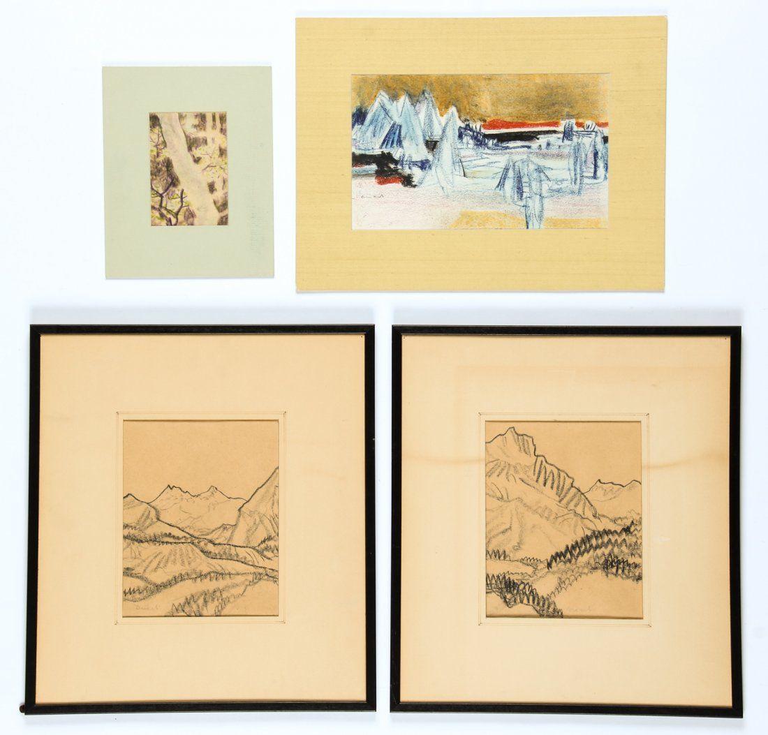 Hans Christoph Drexel (German, 1886-1979) 4 Works