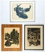 Hans Christoph Drexel (German, 1886-1979) 3 Lithographs