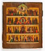 Large and Finely Detailed Antique Russian Icon