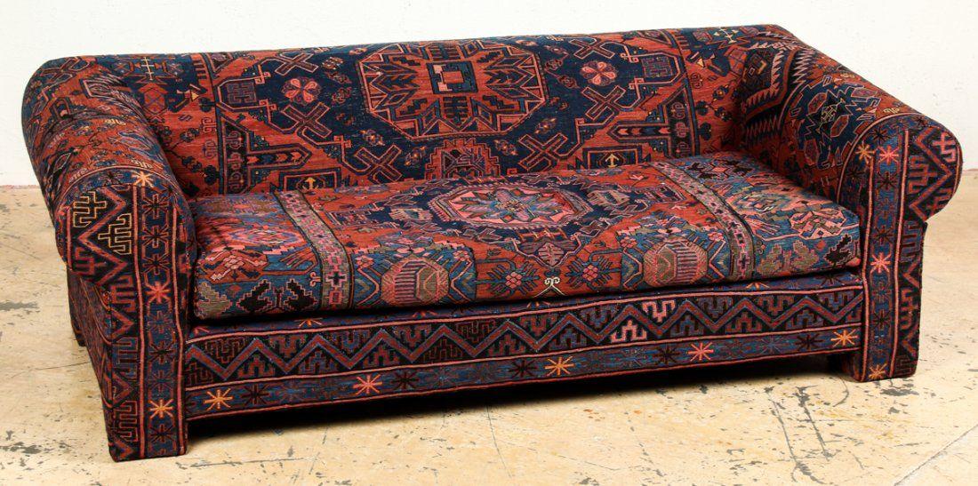 Antique Caucasian Sumakh Sofa