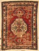 Antique Lori Pambak Kazak Rug 510 x 710 178 x 239