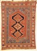 Antique Afshar Rug 43 x 6 130 x 183 cm