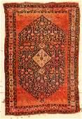 Antique Gashgai Rug 44 x 65 132 x 196 cm